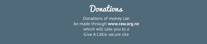 donate to RAW button